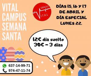Campus Vital Semana Santa