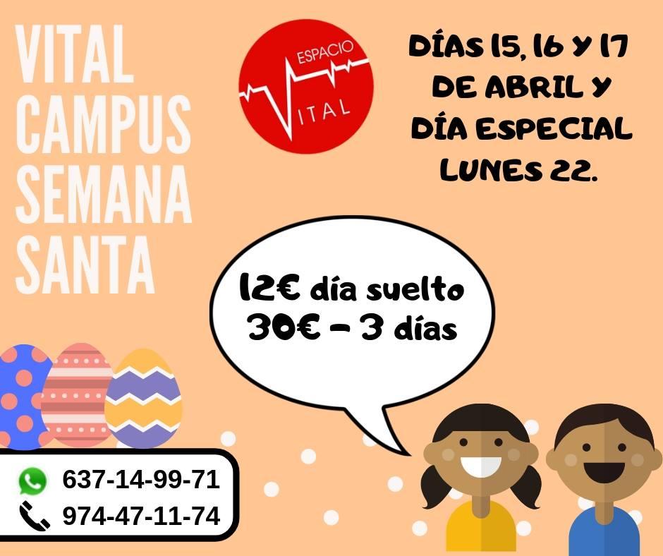 Campus Semana Santa 2019