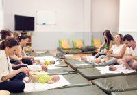 Curso de masajes para bebés (mama-papa-bebé)